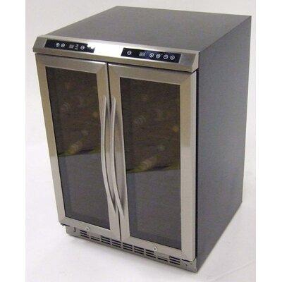 38 Bottle Dual Zone Freestanding Wine Cooler Avanti