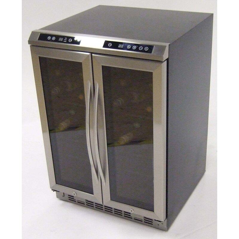Avanti 38 Bottle Dual Zone Freestanding Wine Cooler