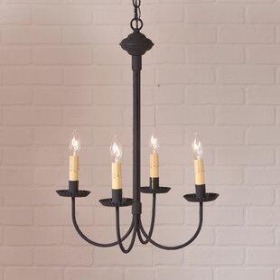 Gracie Oaks Hurst 4-Light Candle Style Ch..