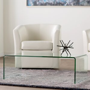 wall glass living room tables. Green Cove Springs Coffee Table Glass Tables You ll Love  Wayfair