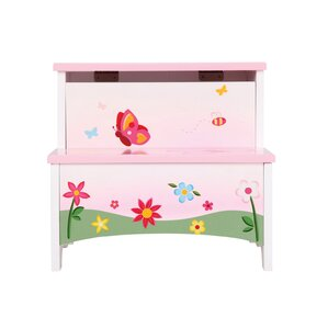 Butterfly Buddies Step Stool with Storage