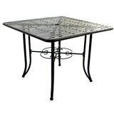 Romona Powder Coated Steel Dining Table