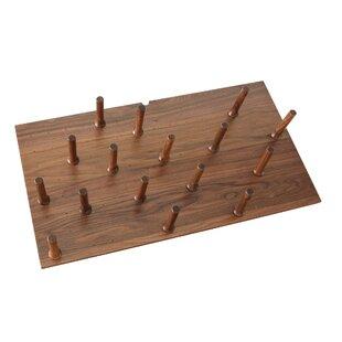 Wood Peg System 6.62 H x 39 W x 21.25 D Drawer Organizer