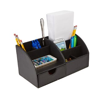 Mind Reader Curved Desk Organizer