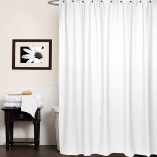 Chevron Cotton Single Shower Curtain