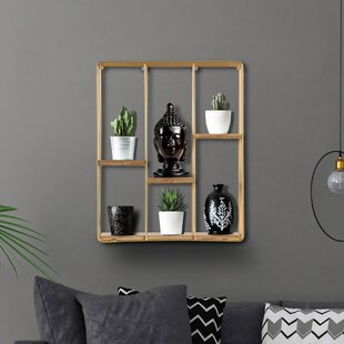 Carpenter Square Floating Wall Shelf