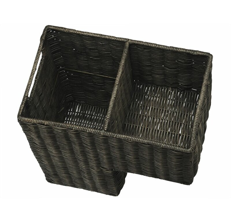 Attrayant Wicker Stair Step Basket