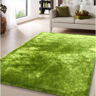 Amore Hand Tufted Lime Green Area Rug