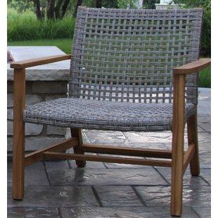 Tibbitts Teak Patio Chair (Set of 2)