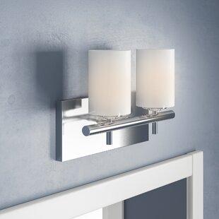 Eliza 2-Light Vanity Light by Ebern Designs