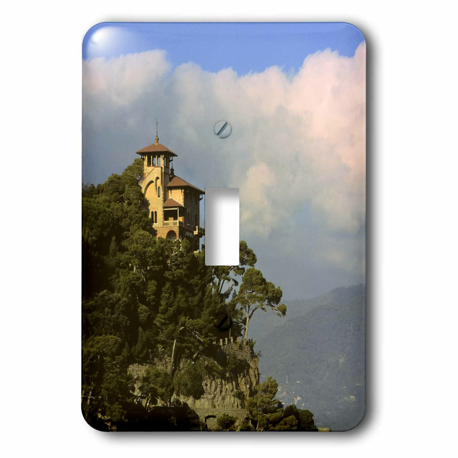 3drose Italy Portofino Mediteranean Coast 1 Gang Toggle Light Switch Wall Plate Wayfair