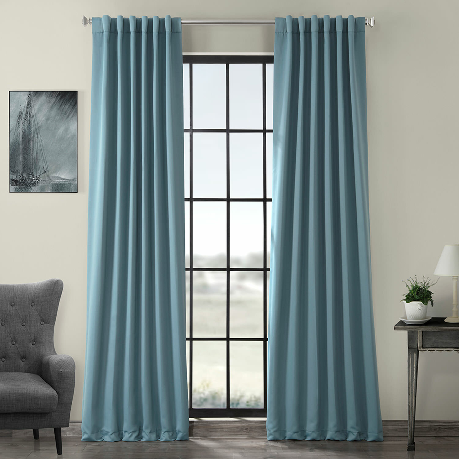 Panel Pair Rod Pocket Curtains Drapes You Ll Love In 2021 Wayfair