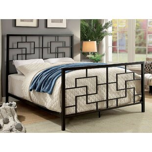 Wetmore Geometric California King Platform Bed by World Menagerie