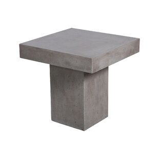 Kurt Outdoor Concrete Side Table