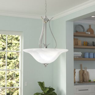 Corwin 3-Light Bowl Pendant by Andover Mills