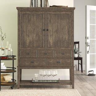 Birch Lane? Heritage Garrey Bar Cabinet