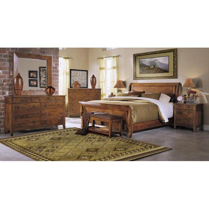 Klaussner Furniture Urban Craftsmen Sleigh Customizable Bedroom