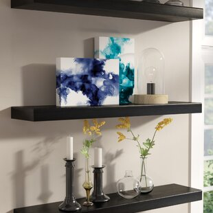 Carlos 2 Piece Floating Shelf Pole Set