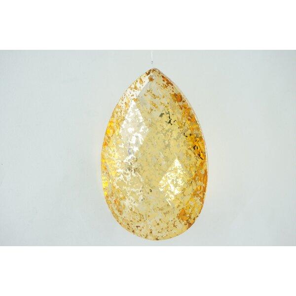 The Holiday Aisle Acrylic Faceted Mercury Teardrop Finial Ornament Wayfair