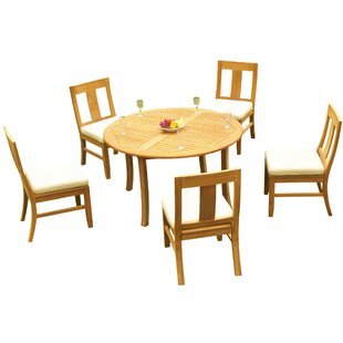 Good Kevon 7 Piece Teak Dining Set By Rosecliff Heights Brand Names