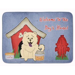 Dog House Chow Chow Memory Foam Bath Rug