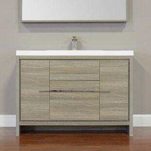 Garett Modern 47 Single Bathroom Vanity Set By Wade Logan