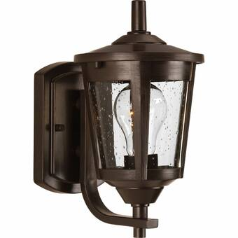 Charlton Home Stockton Outdoor Wall Lantern Reviews Wayfair