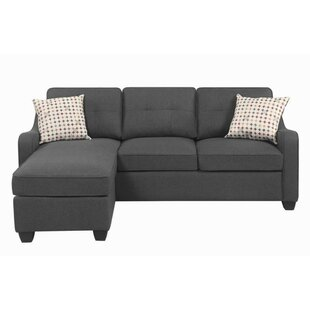 Bloxom Reversible Sectional with Ottoman