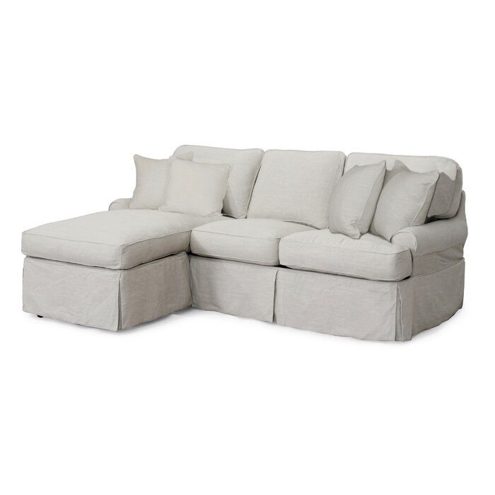 Callie Reversible Sleeper Sectional With Ottoman