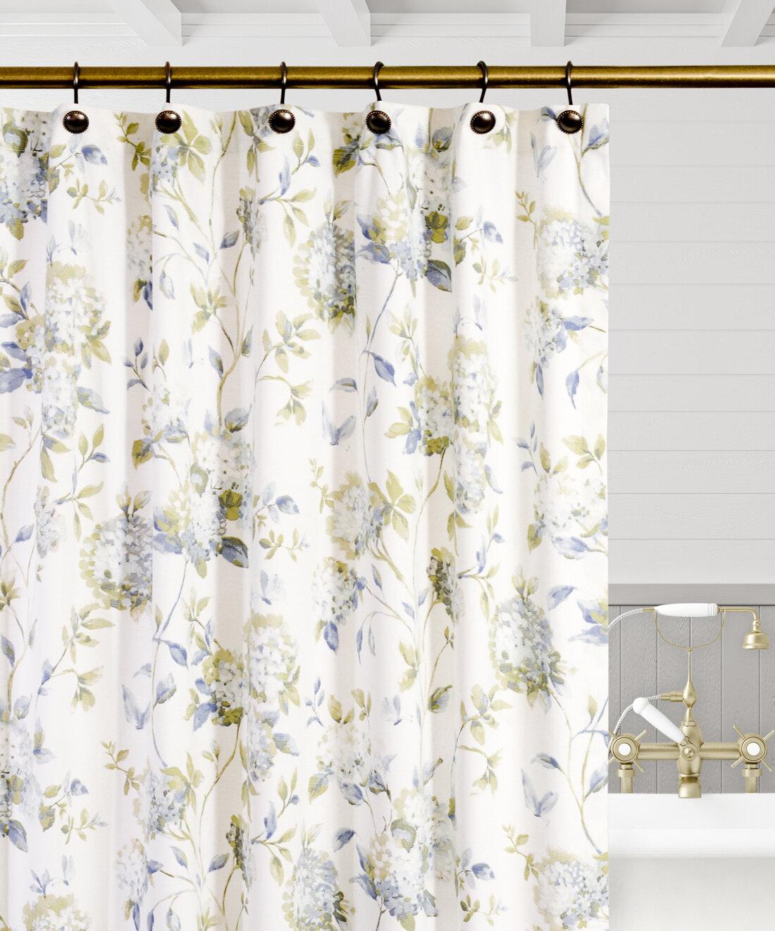 Erie Fl Single Shower Curtain