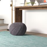 Manorhaven 20 Round Pouf Ottoman by Mercury Row®