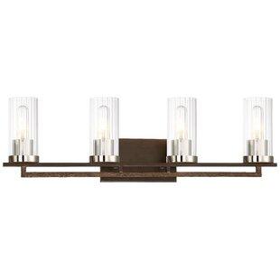Williston Forge Croxton 4-Light Vanity Light