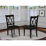 Farris Solid Wood Dining Chair (Set of 2) by Charlton Home®