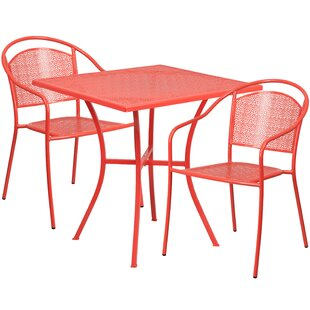 Zipcode Design Robbin 3 Piece Bistro Set