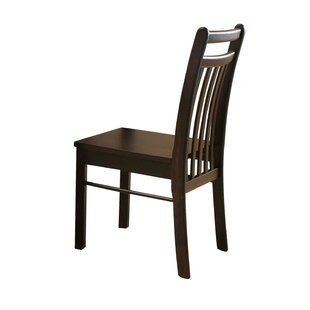 Malchow Solid Wood Side Dining Chair (Set..