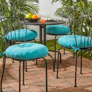 15 Inch Round Bistro Chair Cushions | Wayfair