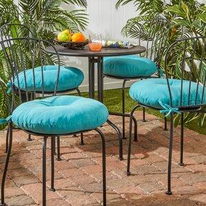 Round Outdoor Bistro Cushions | Wayfair