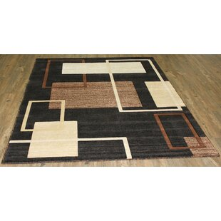 Compare prices LifeStyle Black/Brown Area Rug By Rug Factory Plus