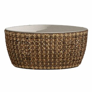 Cort Wicker/Rattan Coffee Table by Summer Classics