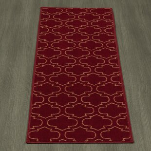 Somerford Red Indoor/Outdoor Area Rug