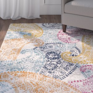Hillsby Yellow/Blue Area Rug