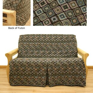 Southwest Box Cushion Futon Slipcover by Easy Fit Best #1