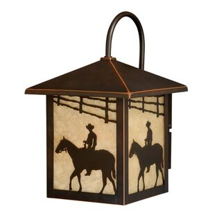 Find a San Dimas 1-Light Outdoor Wall Lantern By Loon Peak