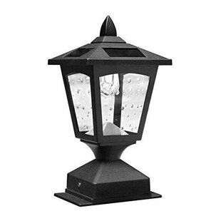 Price comparison Crofts Solar Powered 1-Light LED Lantern Head By Darby Home Co
