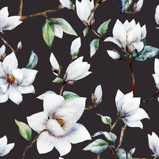Large Floral Wall Paper Wayfair