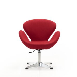 Raspberry Lounge Chair by Ceets