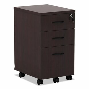 Belle 3-Drawer Mobile Pedestal File Cabinet by Red Barrel Studio