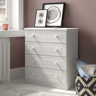 Saxena 4 Drawer Chest By Brambly Cottage