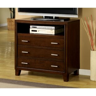 Carpino 3 Drawer Media Chest