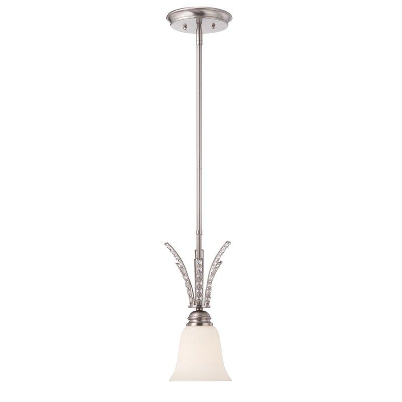 House Of Hampton Cate 1 Light Single Bell Pendant Wayfair